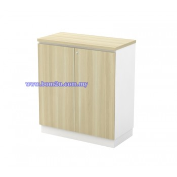 B-YD 9(E) Melamine Woodgrain Swing Door Low Cabinet With Lock