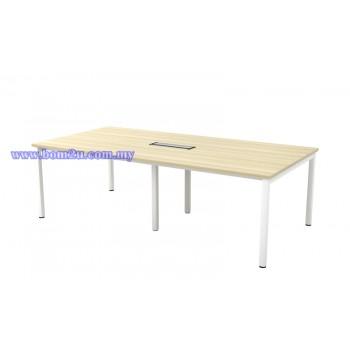 SVB 18/24 Melamine Woodgrain Rectangular Shape Conference Table With U-Leg