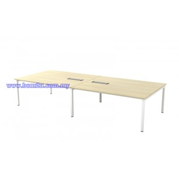 SVB 30/36 Melamine Woodgrain Rectangular Shape Conference Table With U-Leg