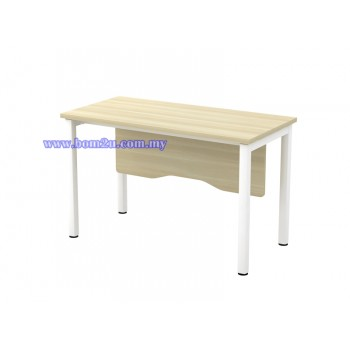 SL-Series Melamine Woodgrain Standard Writing Table (w/o telephone cap)