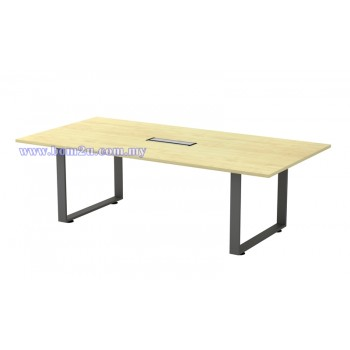 SQVB 18/24 Melamine Woodgrain Rectangular Shape Conference Table With O-Leg
