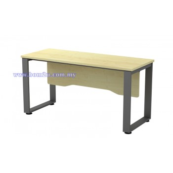 SQ-Series Melamine Woodgrain Standard Writing Table (w/o telephone cap)