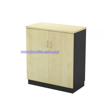 T-YD 9 Melamine Woodgrain Swing Door Low Cabinet With Lock