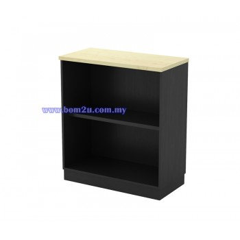 T-YO 9 Melamine Woodgrain Open Shelf Low Cabinet