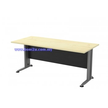 T2-Series Melamine Woodgrain Standard Writing Table
