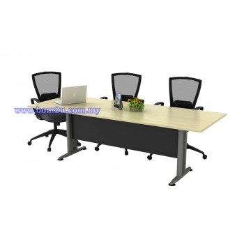 T2-Series Melamine Woodgrain Rectangular/Oval Conference Table