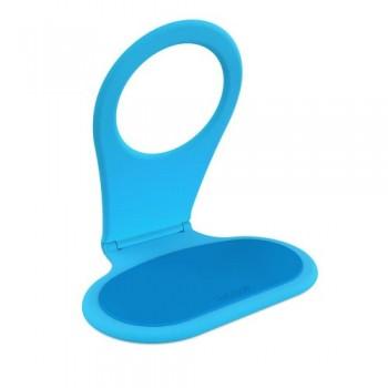 Bobino FOLDING PHONE HOLDER (Turquiose) - Anti-slip Pad, Folding Hinge