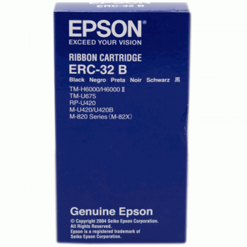 Epson ERC 32 Ribbon - Black (Item No: EPS ERC 32)