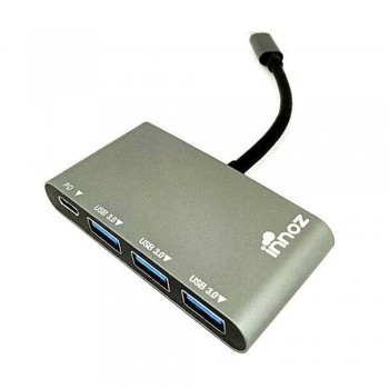 Innoz InnoZone C2 3-Port USB 3.0 with PD & USB 3.1 with Type-C Data Hub support Mac, Windows, Linus OS