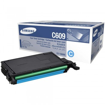 Samsung CLT-C609S (7k) Toner Cartridge - Cyan (Item No: SG CLT-C609S/SE)