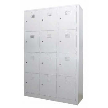 12 Compartments Steel Locker