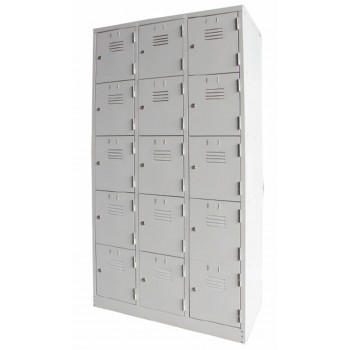15 Compartment Steel Locker