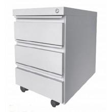 3 Drawer Steel Mobile Pedestal