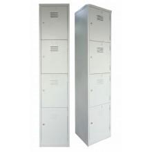 4 Compartment Steel Locker