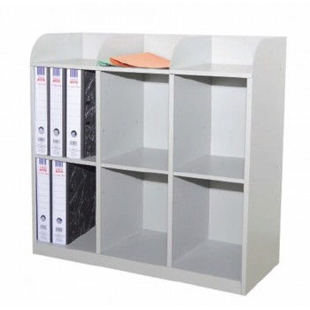 6 Pigeon Hole Side Steel Cabinet