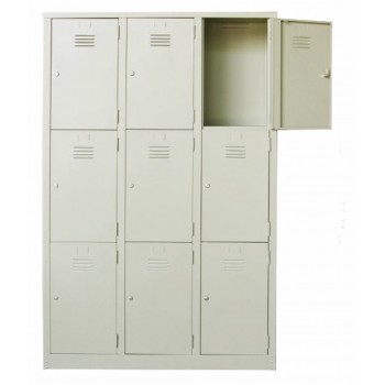 9 Compartments Multiple Steel Locker