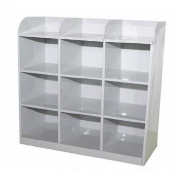 9 Pigeon Hole Side Steel Cabinet