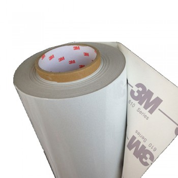 3M-610W (48inch x 50yard) Reflective Sticker (White-Printable)