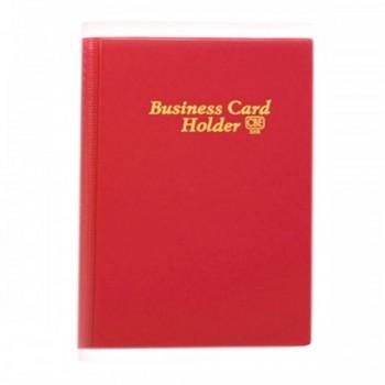 CBE 320E PVC Name Card Holder - Red