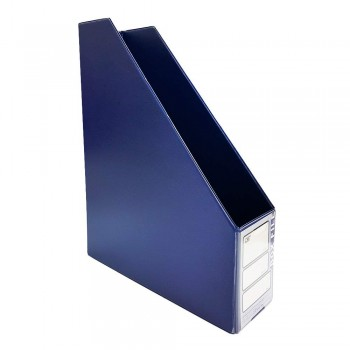 "CBE 412 3"" PVC Box File (A4)-blue (Item No: B10-114)  A1R5B78"