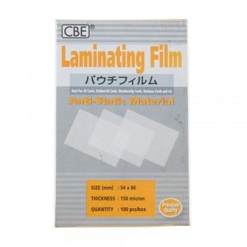 CBE 54 X 86 - 150micron Laminating Film