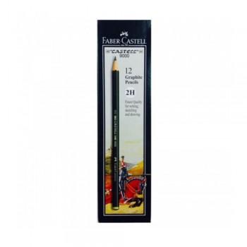 Faber Castell Graphite Pencil Castell 9000 2H (12 pcs)