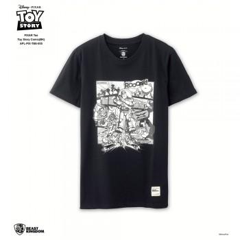 APL-PIX-TEE-005 PIXAR Tee Toy Story Comic (Black, Size L)