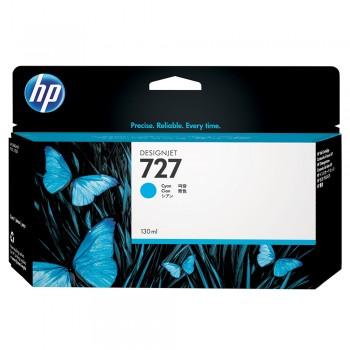 HP 727 130-ml Cyan Designjet Ink Cartridge (B3P19A)