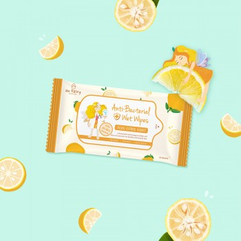 Aufairy Anti Bacterial Wipes - Yuzu Scent - 10pcs (4 in 1)