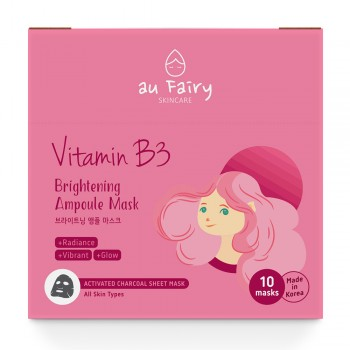 Aufairy Brightening Ampoule Mask - Vitamin B3 - 10 pcs