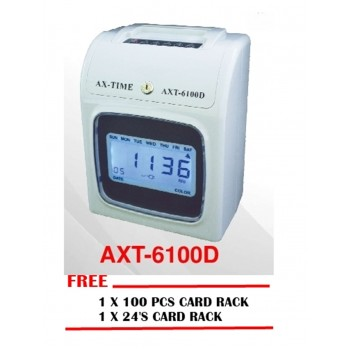 AXPERTECH AXT-6100 Series Electronic Time Recorder